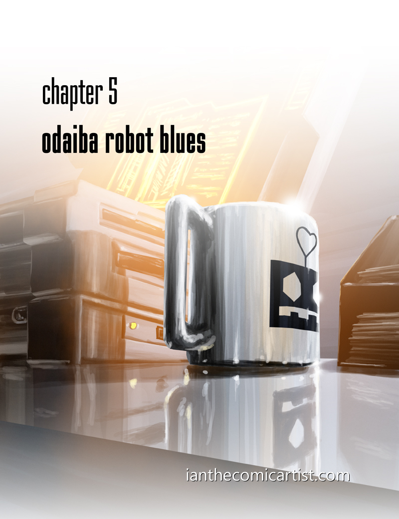 Odaiba Robot Blues - cover